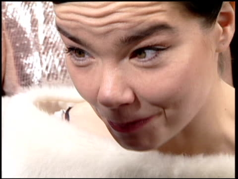 Bjork at the 2001 Golden Globe Awards at the Beverly Hilton in Beverly Hills California on January 21 2001