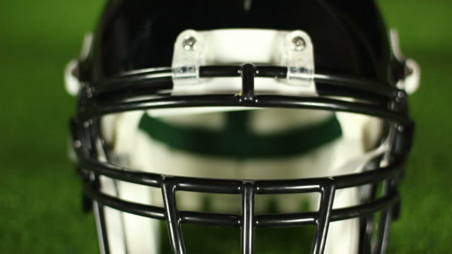 Black American Football helmet - HD