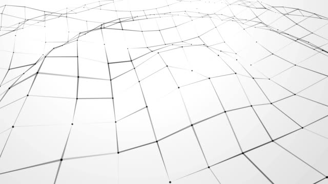 black and white Abstract connections background