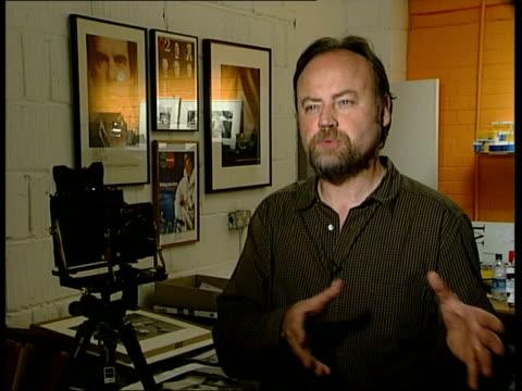 vídeos de stock, filmes e b-roll de black and white film company ilford call in administrators; cbv eamonn mccabe - ilford