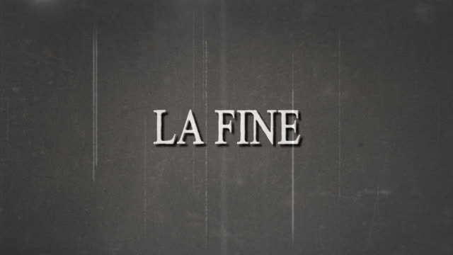 black and white film, la fine and film burn effect. - film premiere stock videos & royalty-free footage