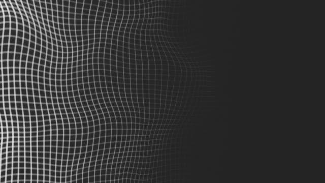 vídeos y material grabado en eventos de stock de fondo de cuadrícula en blanco y negro - imagen virada