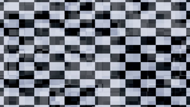vídeos de stock, filmes e b-roll de praças de fundo preto e branco - elemento de desenho