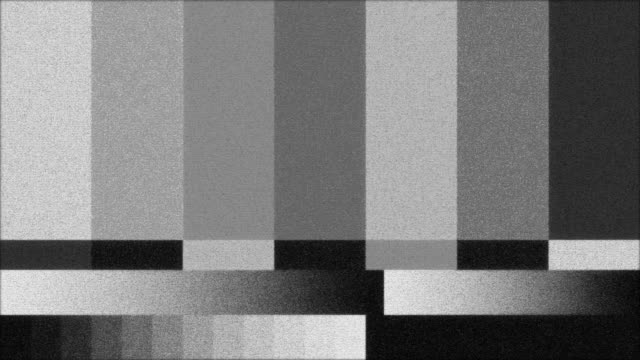 Black and White TV Color Bars