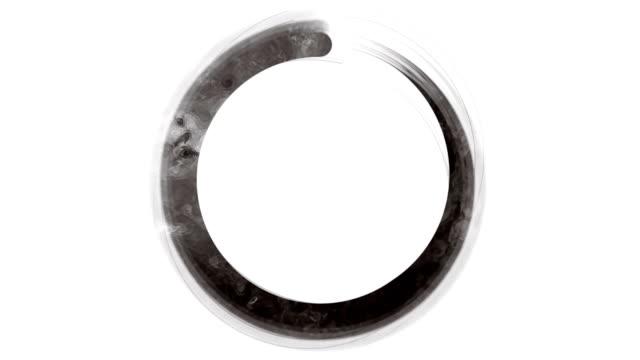 黒と白の禅 Enso のシンボル