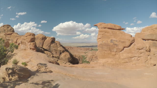 black arch overlook - utah stock videos & royalty-free footage