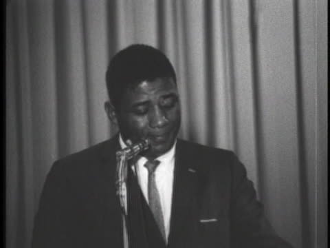 black athlete addresses the 1962 convention. - united states and (politics or government) stock videos & royalty-free footage