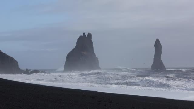 Black Beach, Reynisfjara, V��k �� M��rdal, Southern Iceland