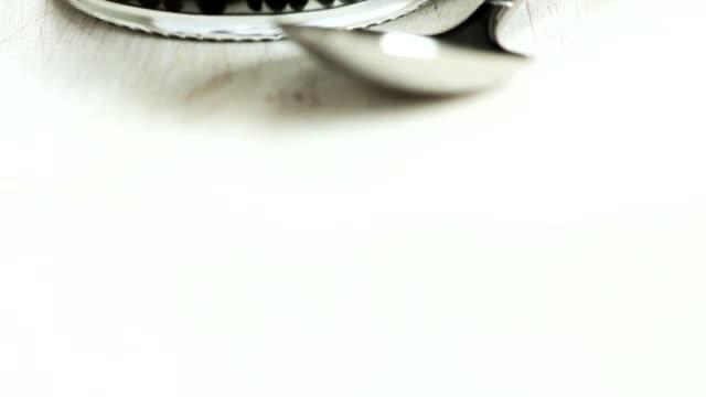 Schwarzen Kaviar