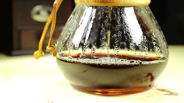 Black Coffee from Drip Maker
