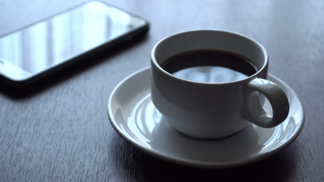 black coffee - coffee drink stock videos & royalty-free footage