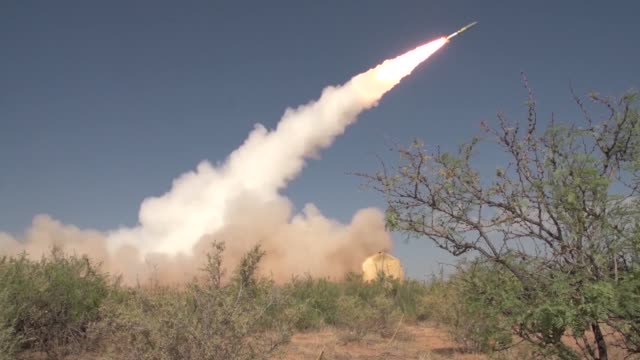 a black dagger missile test at white sands missile range - white sands missile range stock videos & royalty-free footage