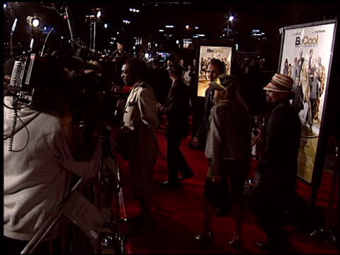 black eyed peas at the 'be cool' premiere at grauman's chinese theatre in hollywood california on february 14 2005 - the black eyed peas band stock videos and b-roll footage