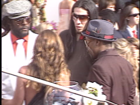 black eyed peas at the emmy awards 2005 at shrine - oliver platt stock videos & royalty-free footage