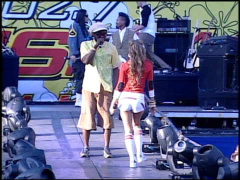 black eyed peas at the kiisfm's wango tango concert 2005 on may 14 2005 - the black eyed peas band stock videos and b-roll footage