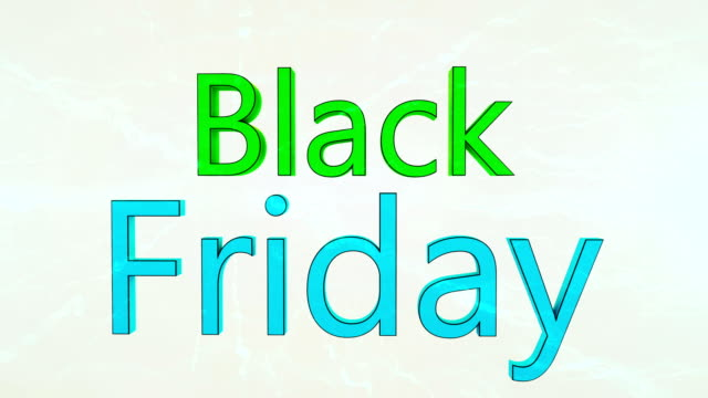 black friday advertisement text banner - capital letter stock videos & royalty-free footage