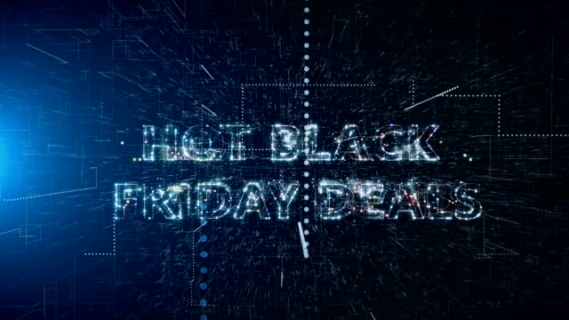 black friday discount background - capital letter stock videos & royalty-free footage