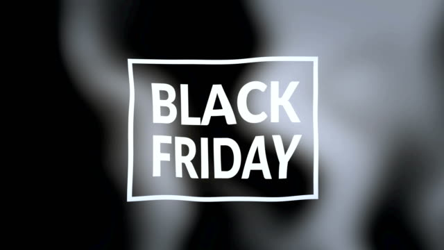 black friday flag - friday stock videos & royalty-free footage
