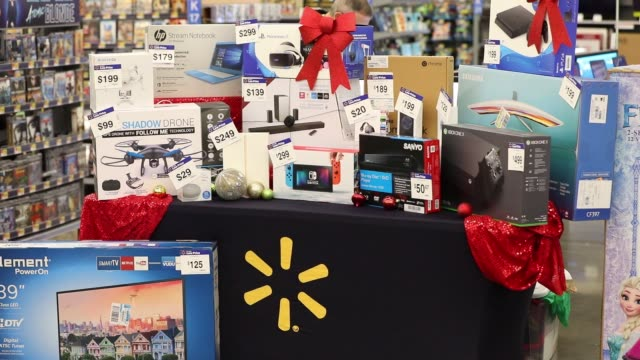 Black Friday sale items displayed for the media at a WalMart Stores Inc location in Burbank California US on Thursday Nov 16 2017 Photographer...