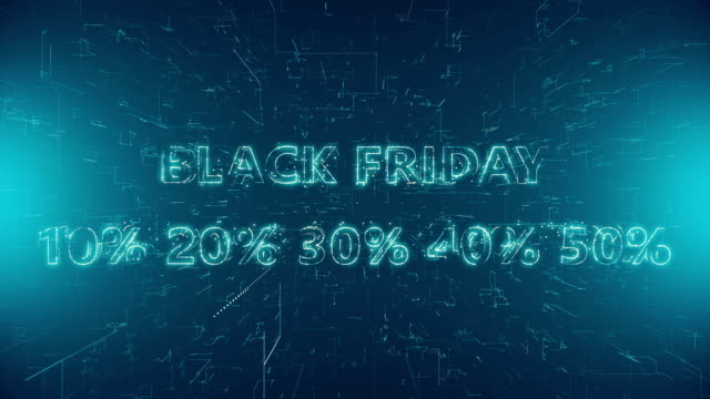 Black Friday Text Banner