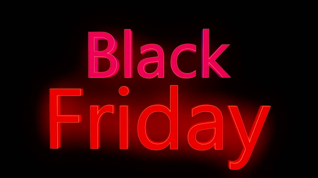 black friday typography - capital letter stock videos & royalty-free footage