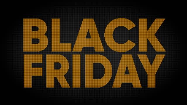 black friday - short phrase stock videos & royalty-free footage