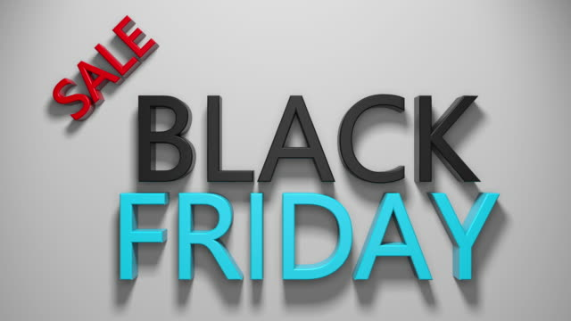 black friday - black friday stock videos & royalty-free footage