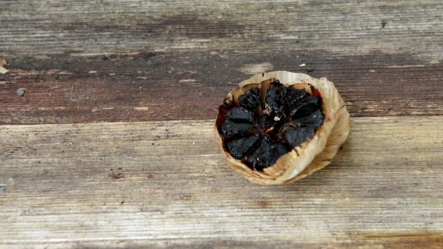 black garlic - image stock videos & royalty-free footage