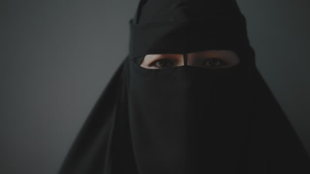 black hijab - shi'ite islam stock videos & royalty-free footage