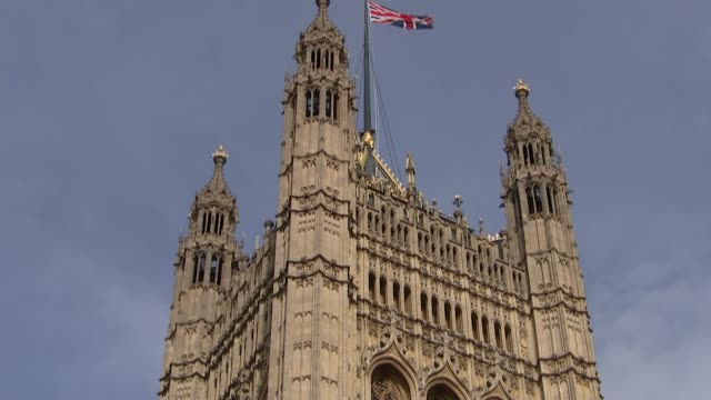 the politics of racial representation ENGLAND London EXT Victoria Tower at the Houses of Parliament Reporter to camera SOT