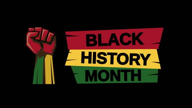 black history month with fist - slavery stock videos & royalty-free footage