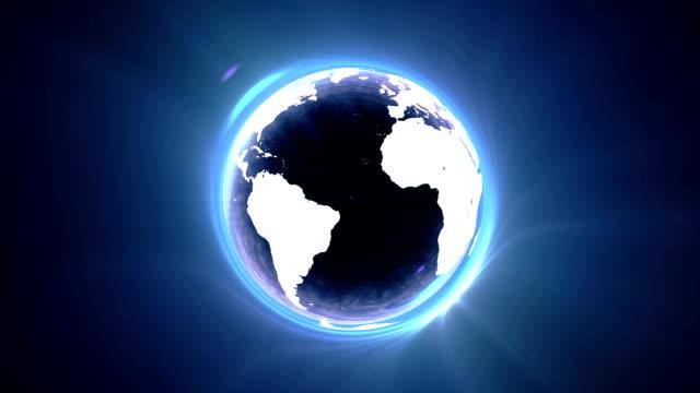 vídeos y material grabado en eventos de stock de agujero negro mundo circle - brightly lit