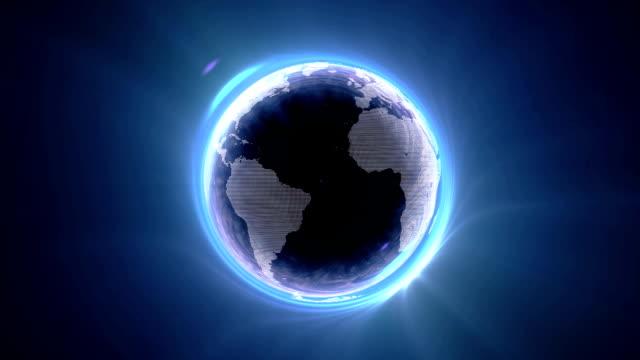 vídeos y material grabado en eventos de stock de agujero negro mundo - brightly lit