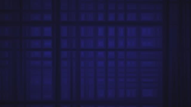 black lines on blue - タータンチェック点の映像素材/bロール