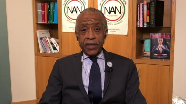 interview with civil rights leader reverend al sharpton england london int reverend al sharpton interview via internet sot on the international... - al sharpton stock videos & royalty-free footage