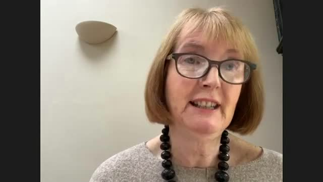 report calls for urgent action to protect human rights of black people; england: int harriet harman mp interview via internet sot. - human joint stock videos & royalty-free footage