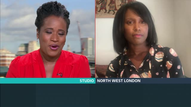 'the world reimagined' mass participation art project to start conversations about britain and slavery; england: london: gir: int michelle gayle live... - michelle gayle stock videos & royalty-free footage
