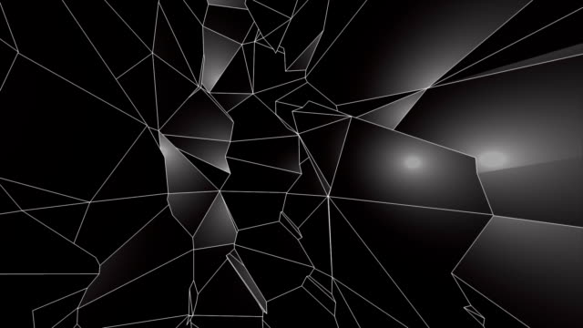black low poly abstract background. seamlessly loopable. - polygonal human face stock videos & royalty-free footage