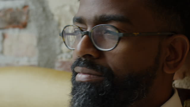 black male - beard stock videos & royalty-free footage
