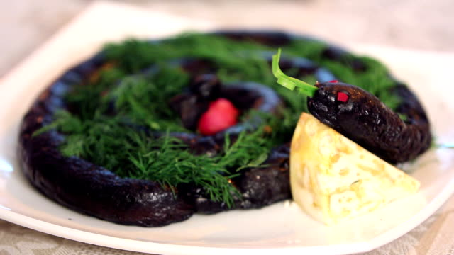 black pudding - scottish culture stock videos & royalty-free footage