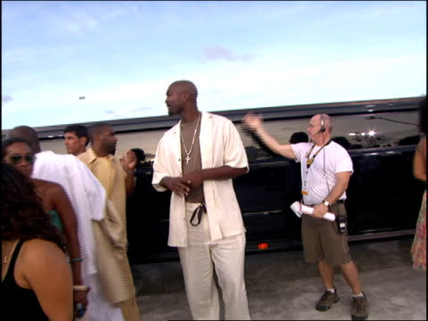 Black Rob and 8Ball Arriving at the 2005 MTV Video Music Awards red carpet