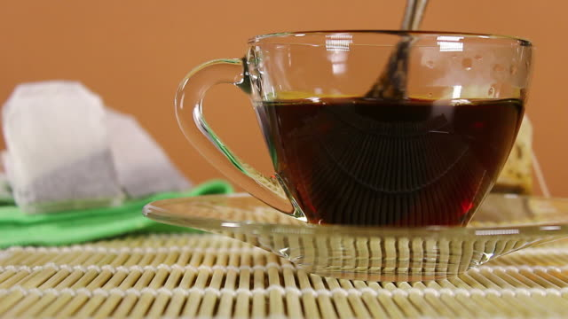black tea for hot drink - black tea stock videos and b-roll footage
