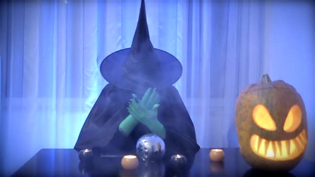 black witch - witch stock videos & royalty-free footage