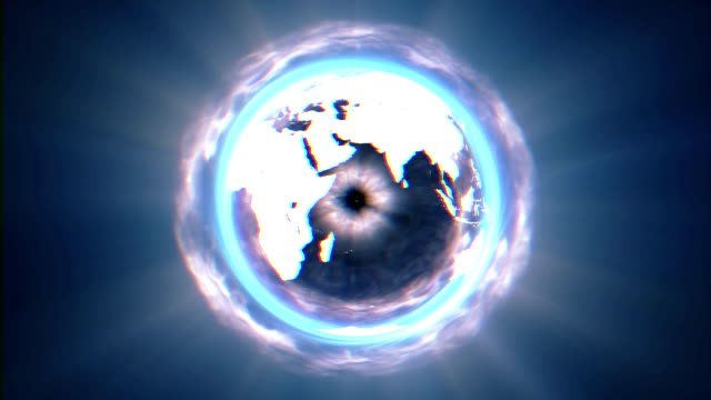 black world circle - space and astronomy stock videos & royalty-free footage