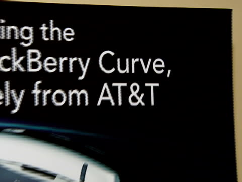 BlackBerry Curve from ATT US Launch Party at Beverly Hills California