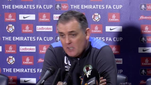 Blackburn manager Owen Coyle speaks following his team's 21 FA Cup defeat to Manchester United after a late goal from Zlatan Ibrahimovic
