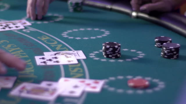 blackjack - busy table - blackjack stock videos and b-roll footage
