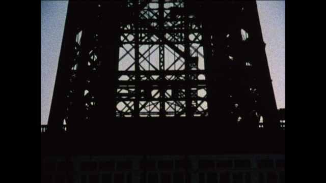 tu blackpool tower at dusk / united kingdom - peter greenaway stock videos & royalty-free footage