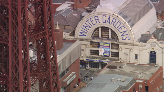 stockvideo's en b-roll-footage met blackpool tower - blackpool lancashire
