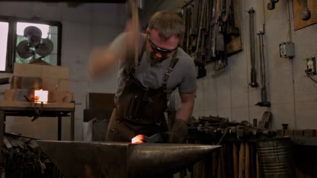 blacksmith a - blacksmith stock videos and b-roll footage